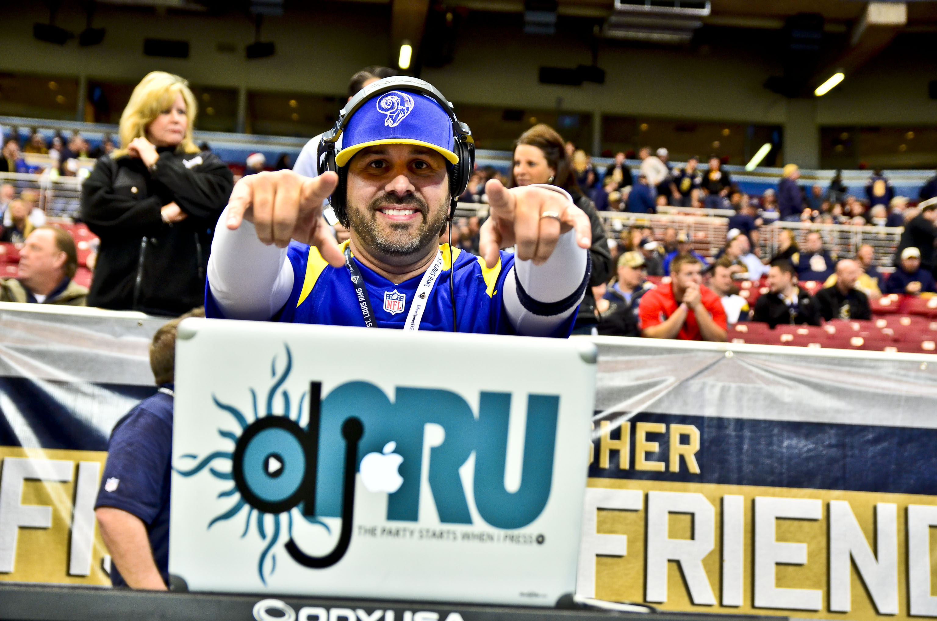 DjPRU St Louis Rams Game Day DJ